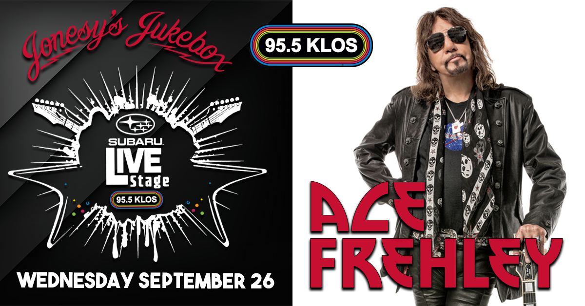ENTER TO WIN: Ace Frehley in the KLOS Subaru Live Stage