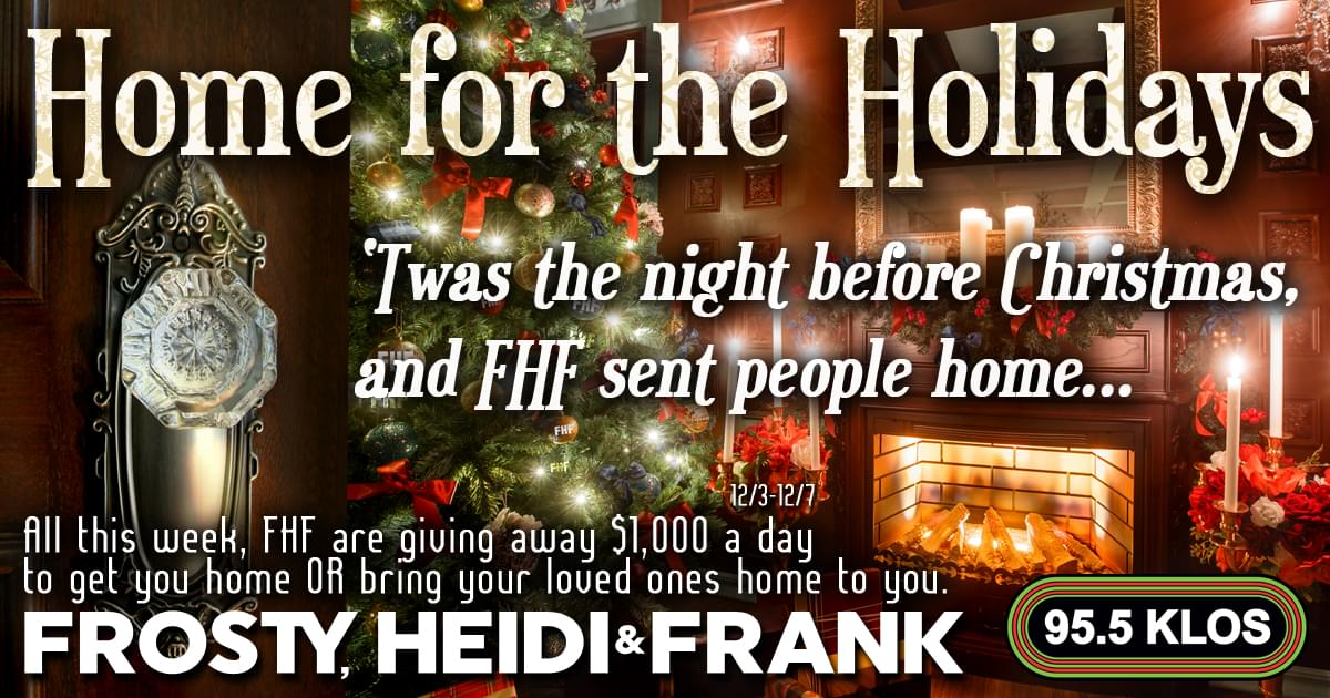 FHF HOME FOR THE HOLIDAYS