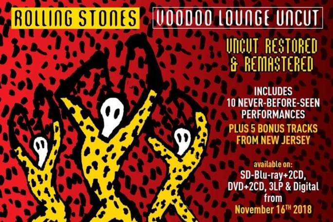 "Enter for your chance to win a copy of The Rolling Stones 2cd/dvd set ""Voodoo Lounge Uncut"""