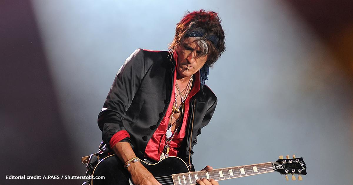 Joe Perry Is Recovering After Collapsing At Billy Joel Concert