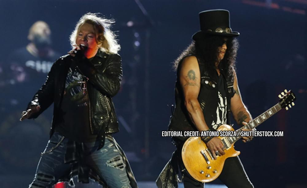 GUNS N' ROSES' 20 MOST HISTORIC CONCERTS
