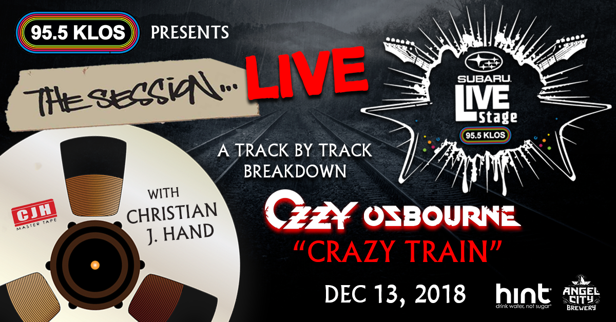 Listen to win passes The Session Live with Christian J. Hand in the KLOS Subaru Live Stage