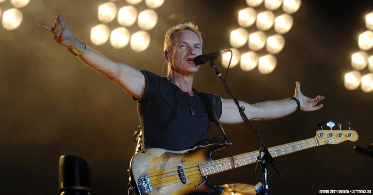"Sting Teases New Album With ""Re-Imagined"" Versions of His Hits"