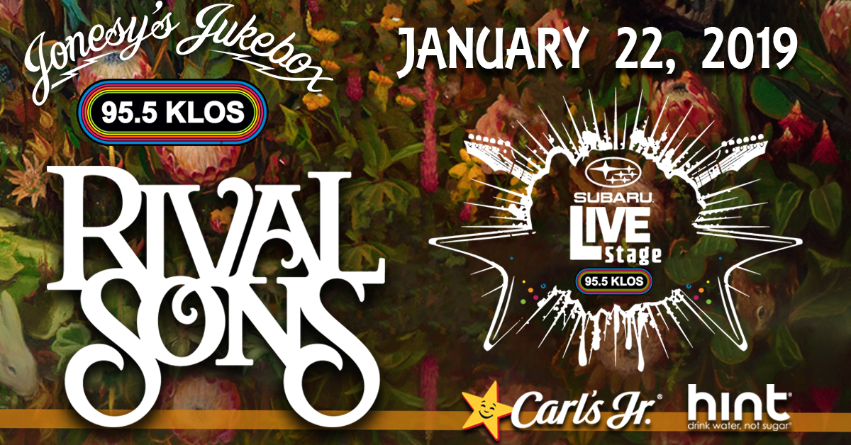 ENTER TO WIN TIX: Jonesy's Jukebox with Rival Sons from the KLOS Subaru Live Stage