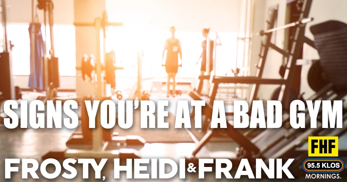 Signs You're At A Bad Gym
