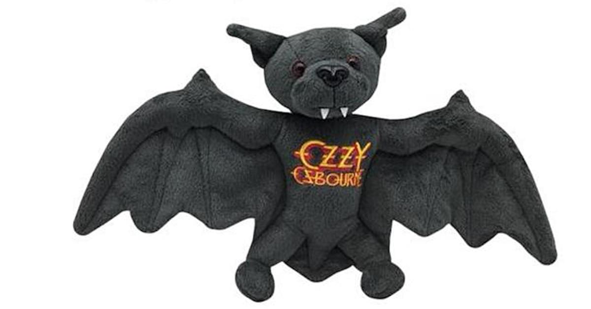 Ozzy Osbourne Is Selling a Plush Bat to Commemorate Bat-Biting Anniversary