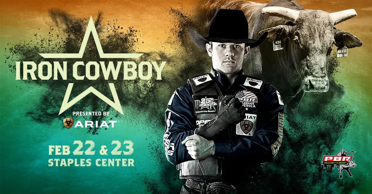 Enter to Win Tickets to PBR Iron Cowboy