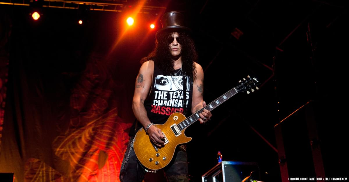Slash Says There's Material For a New Guns N' Roses Album