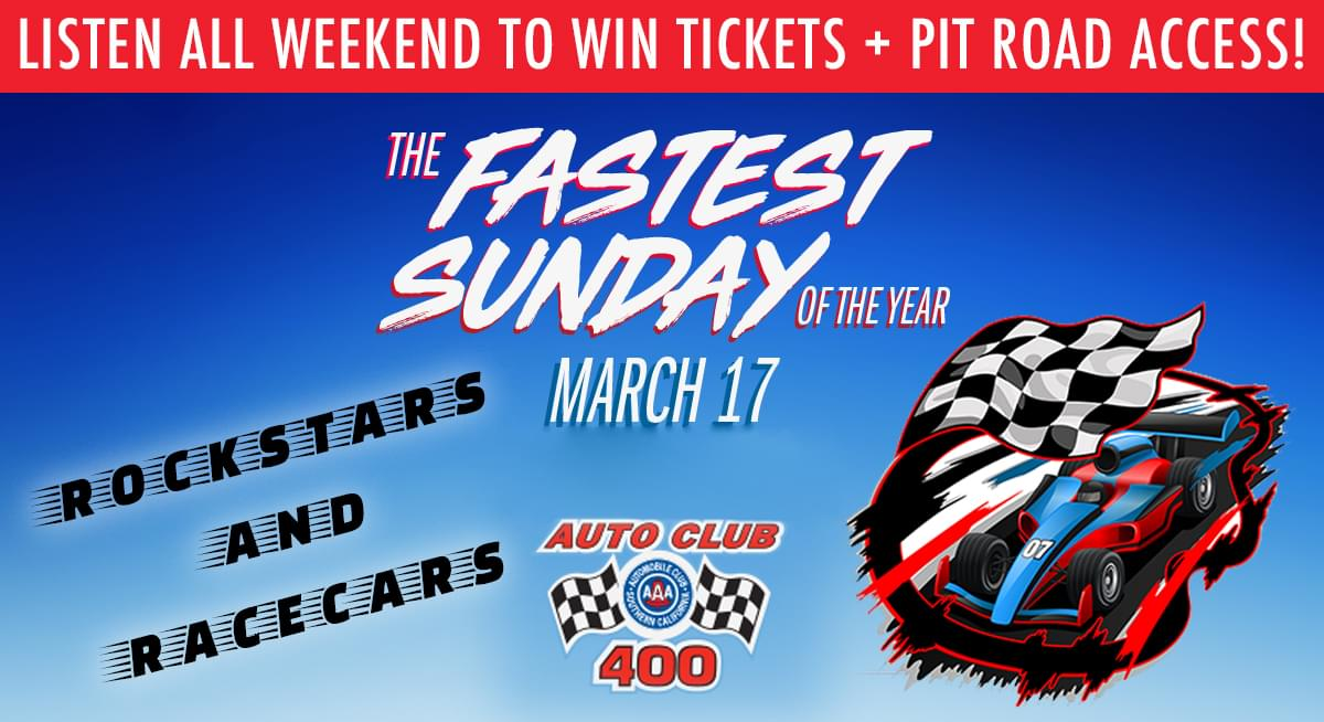 It's a Rockstars and Racecars Weekend!