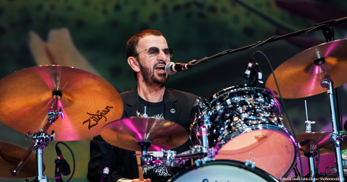 Ringo Starr Will Play Woodstock's 50th Anniversary Show