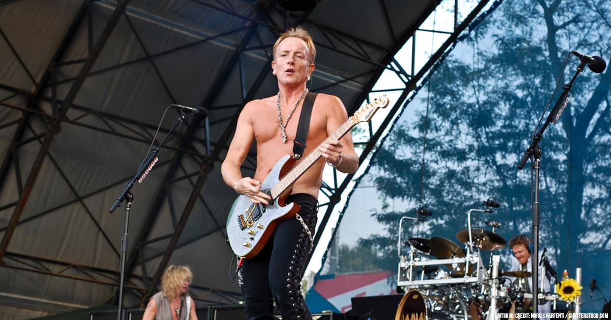 Def Leppard's Phil Collen Voices His Opinion on Backing Tracks Debate