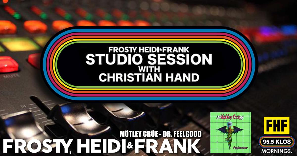 FHF Studio Session With Christian James Hand 3/18/19