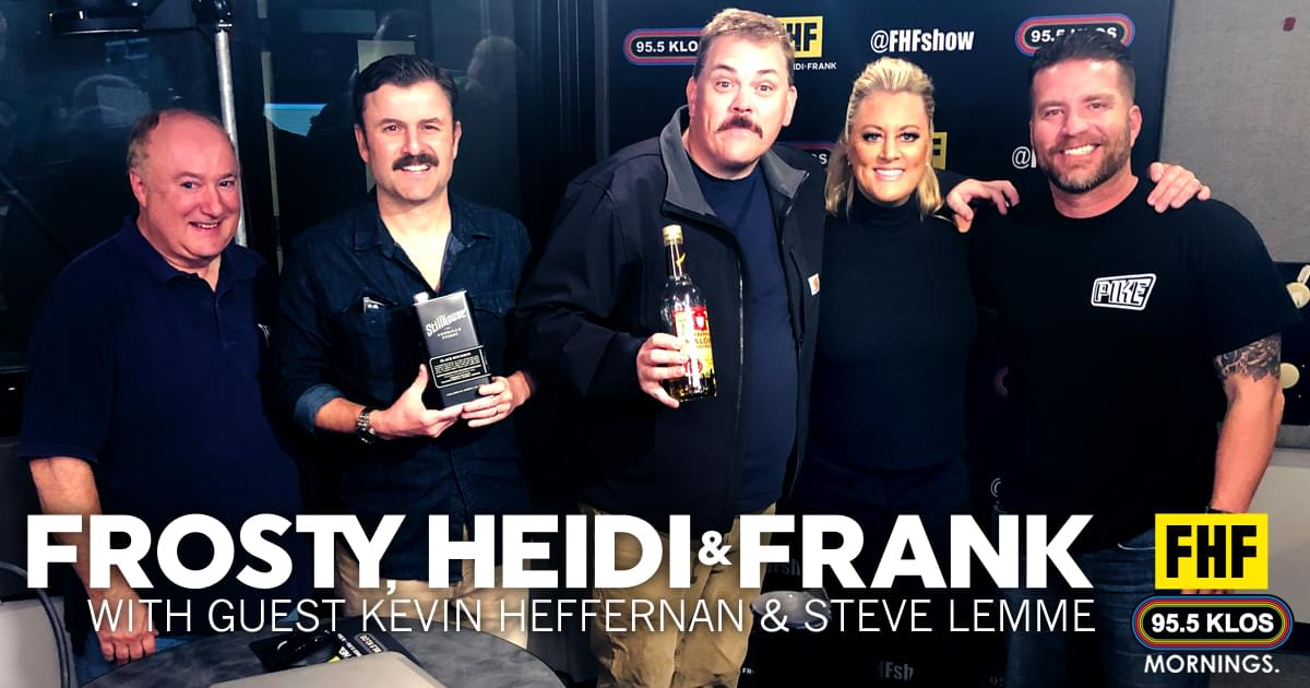 Frosty, Heidi and Frank with guests Kevin Heffernan and Steve Lemme