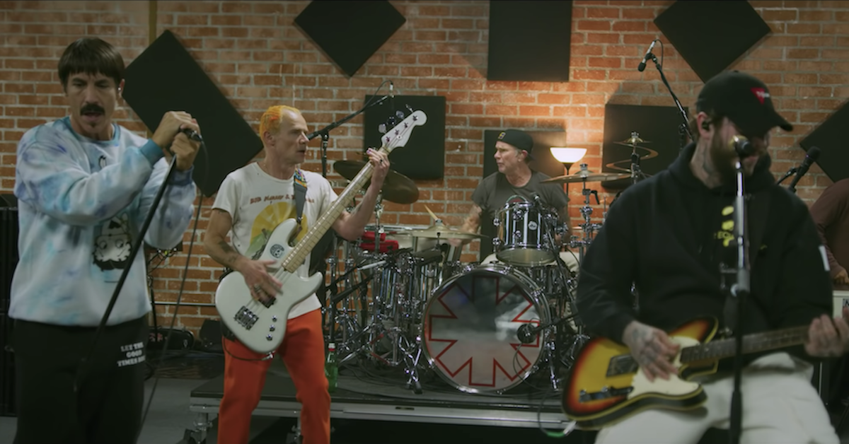 "Red Hot Chili Peppers Appear in Post Malone's ""Wow"" Music Video"