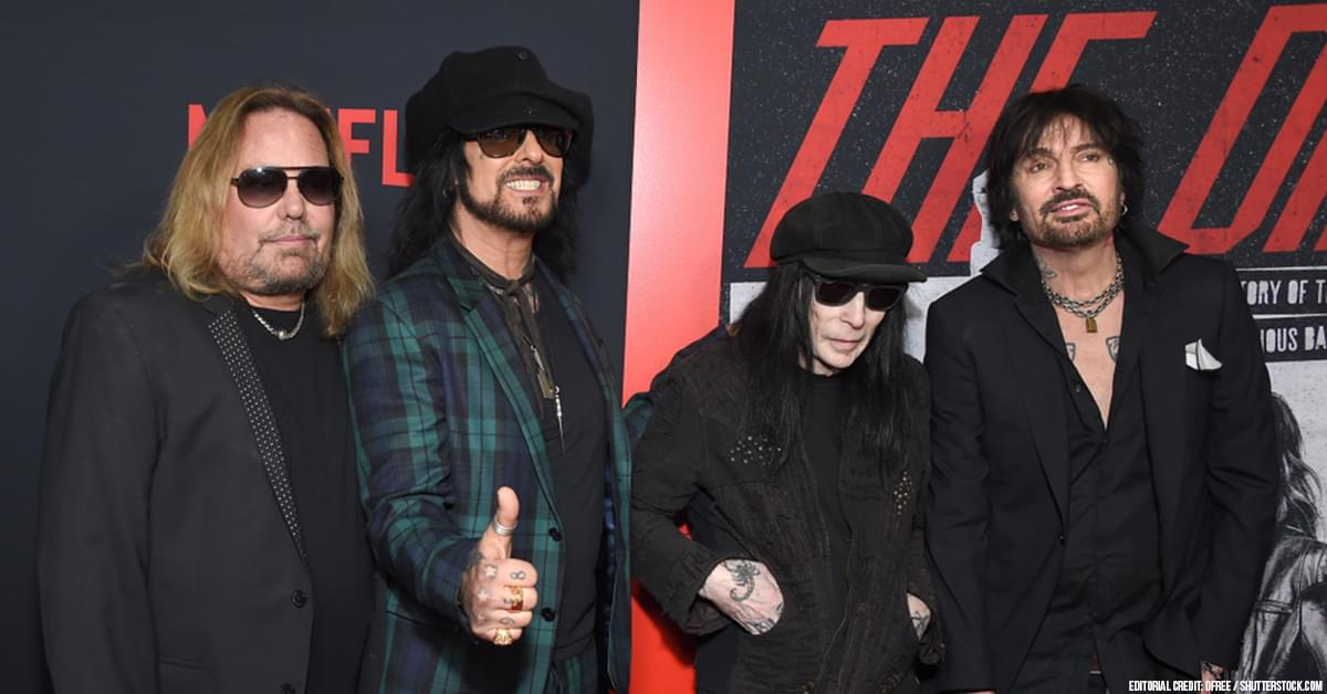 "Mötley Crüe + Netflix Sued By Injured ""The Dirt"" Crew Member"