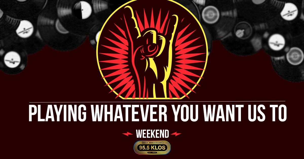 Playing Whatever You Want Us To Weekend