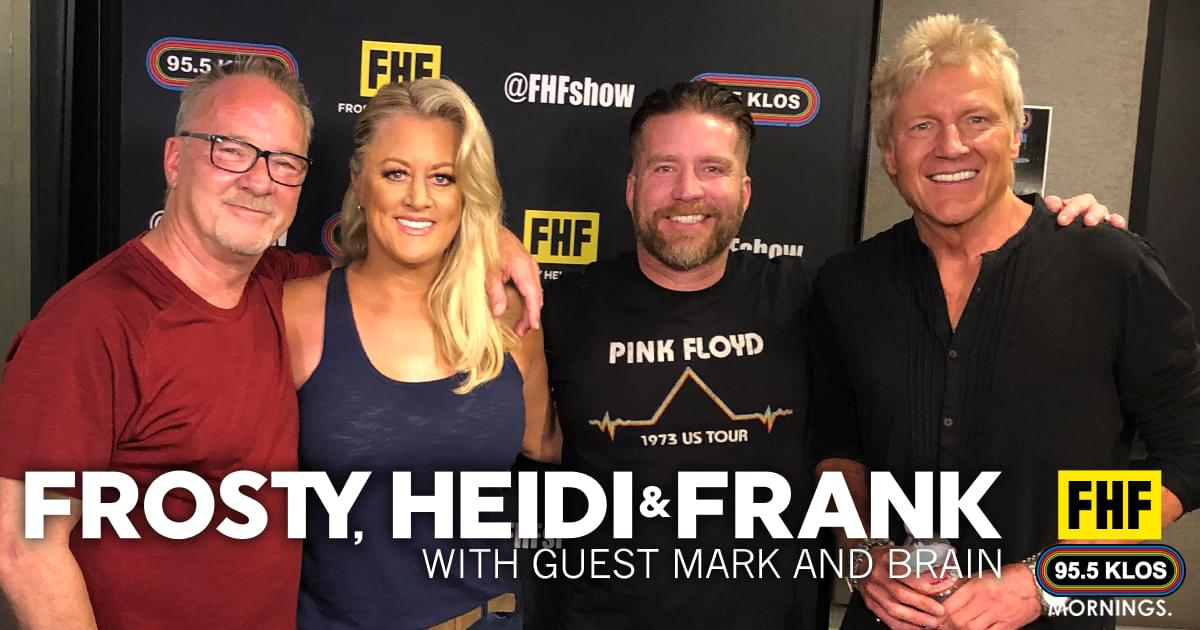 PODCAST: Frosty, Heidi and Frank with guest Mark and Brian