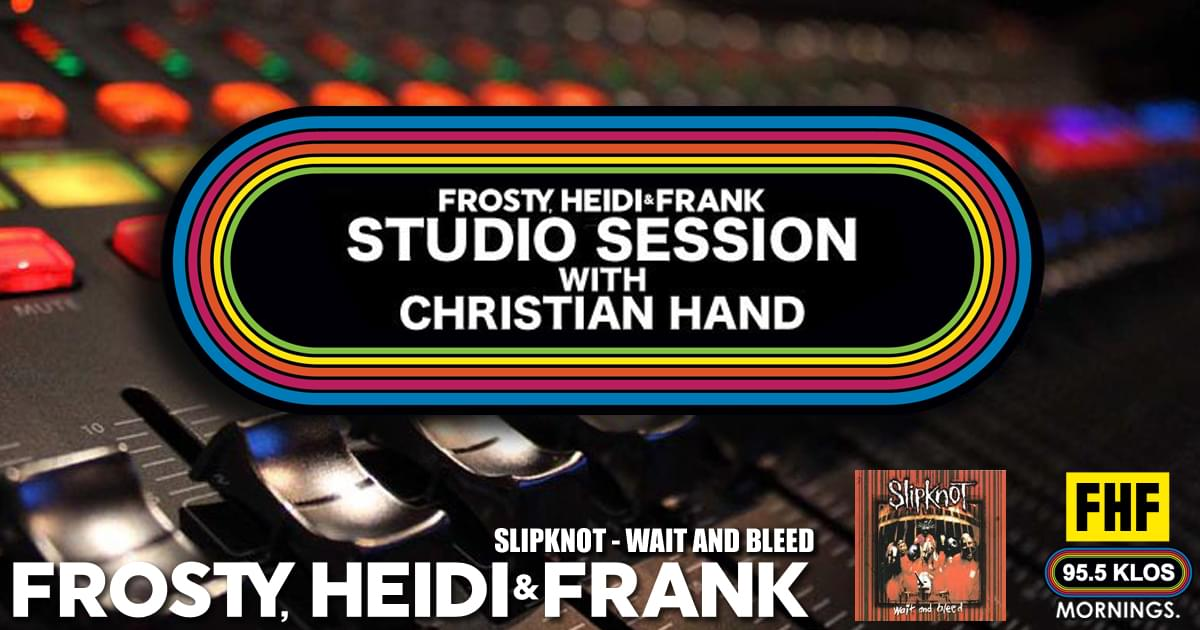 FHF Studio Session With Christian James Hand 4/29/19