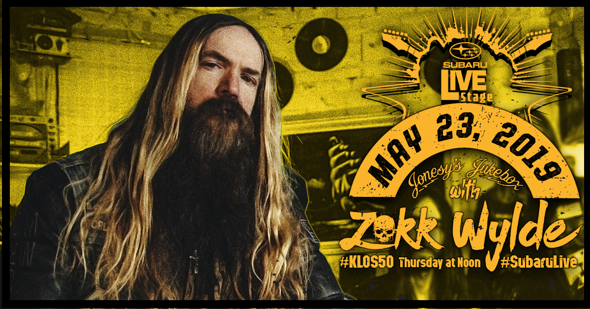 Enter To Win Access to KLOS Subaru Live Stage with Zakk Wylde