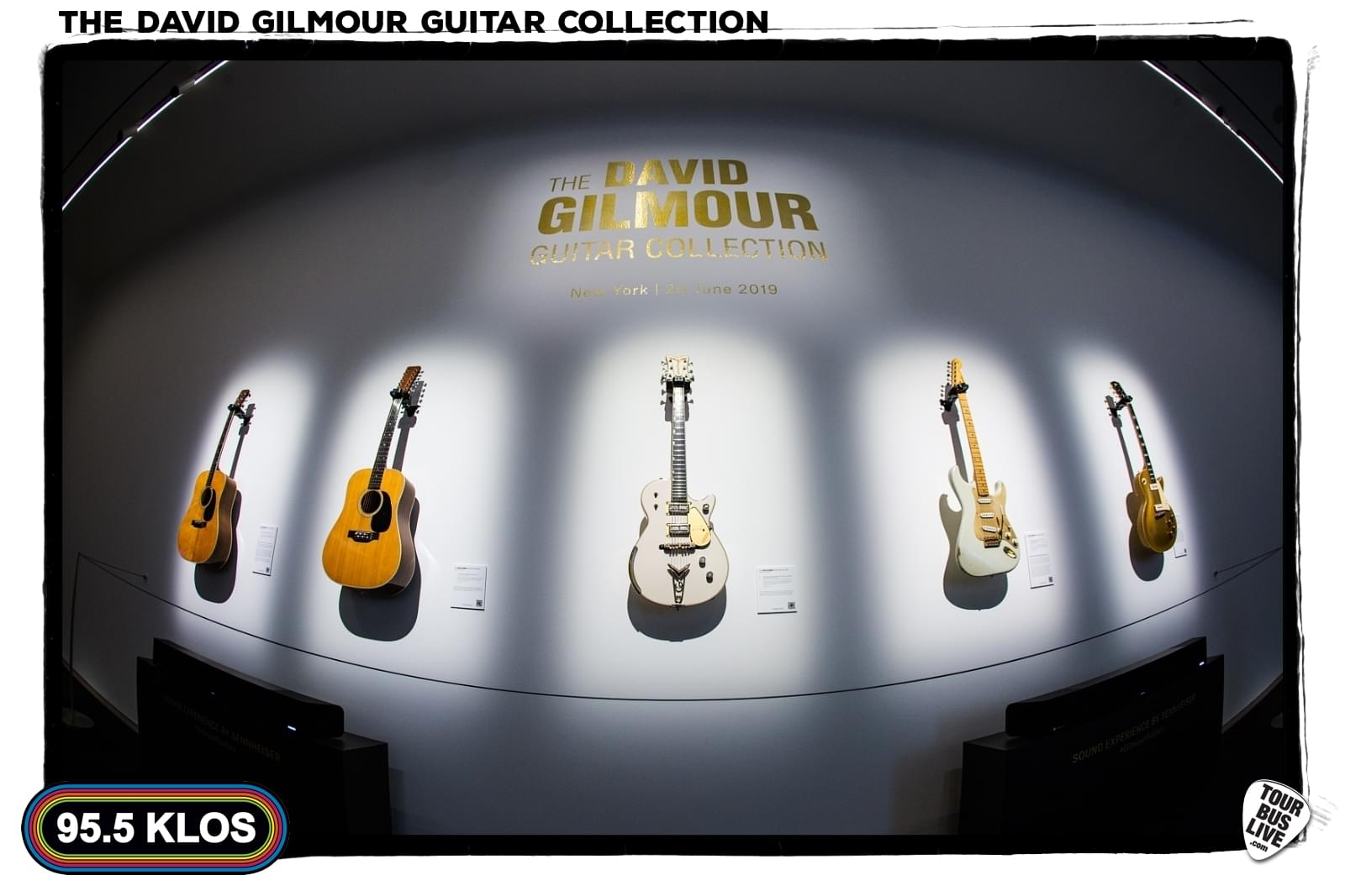 PHOTOS: David Gilmour Guitar Collection