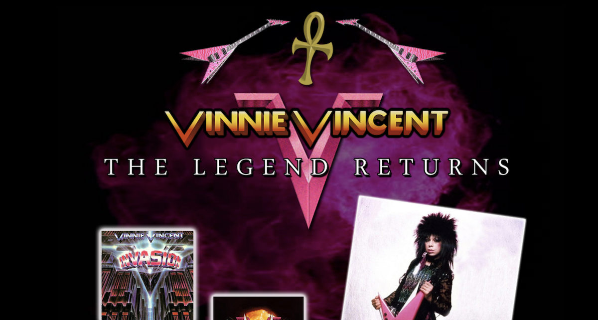 KISS' Vinnie Vincent Reportedly Cancels June Comeback Show