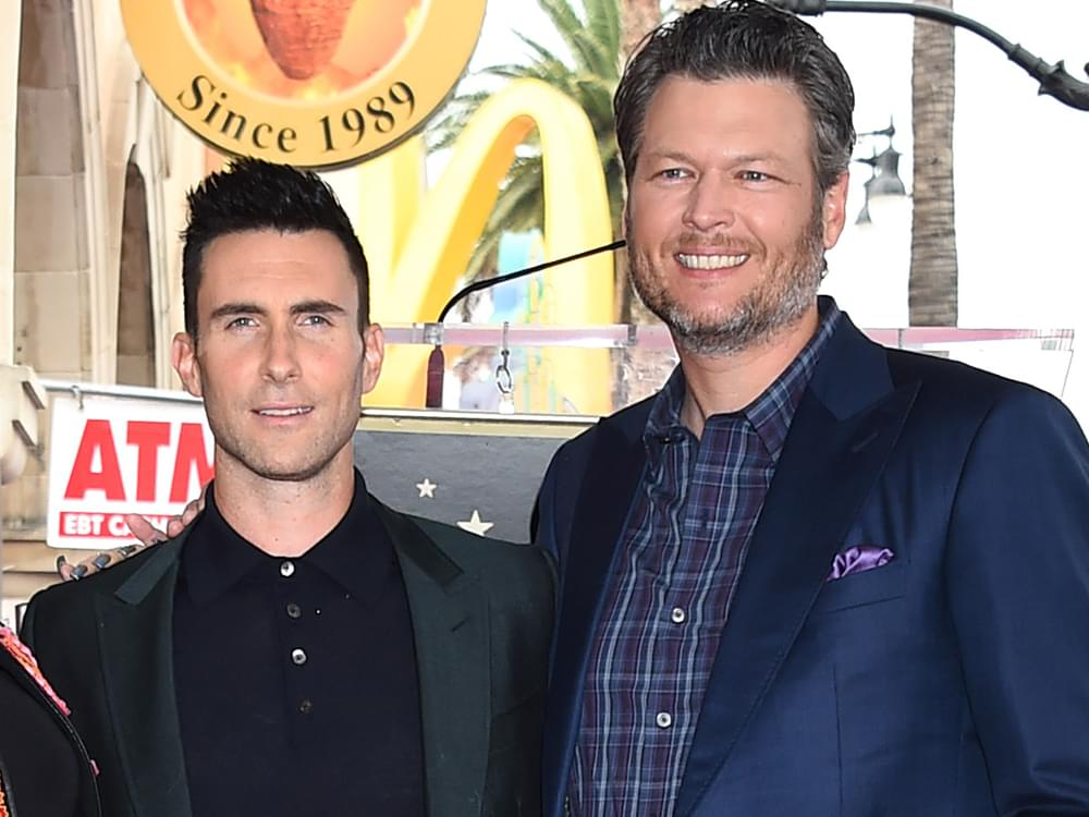 "Blake Shelton Is ""Gonna Miss Working With That Idiot"" Adam Levine on ""The Voice"""
