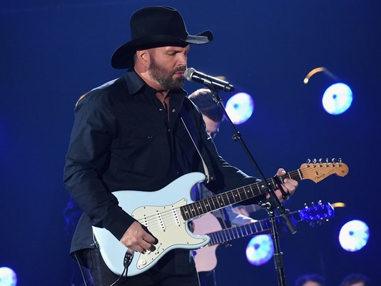 Garth Brooks Talks College Javelin Throwing Days & Lady Gaga's 'Authentic As Hell' Role In 'A Star Is Born' On 'Late Show': Watch