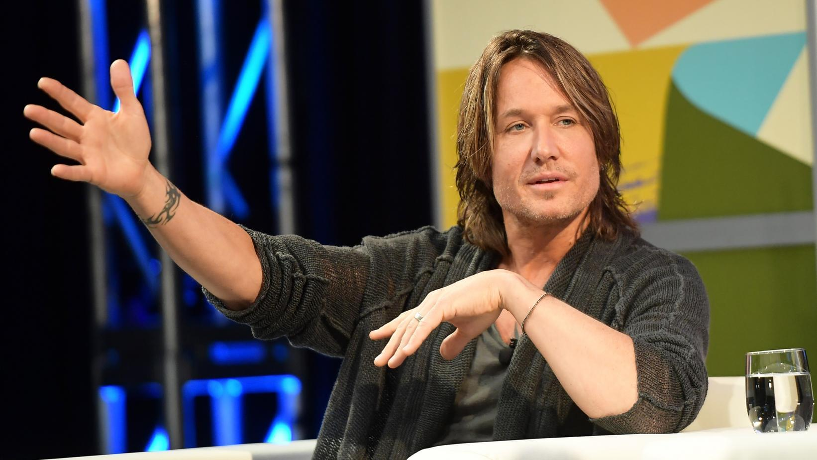 Keith Urban On New Album 'Graffiti U,' Sampling Haggard, Writing With Ed Sheeran