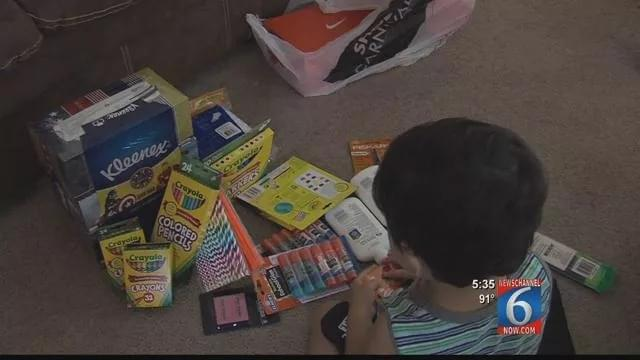 Local Business Hosts Summer-Long School Supply Drive