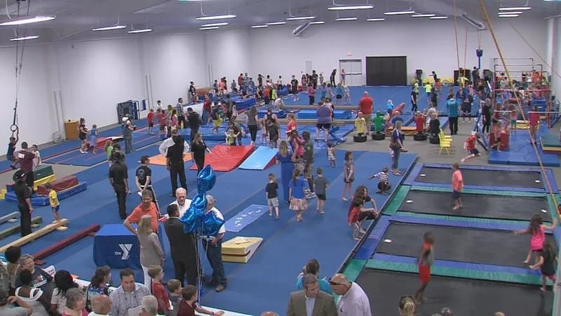 Wichita Falls Families Flip For The YMCA's New Gym