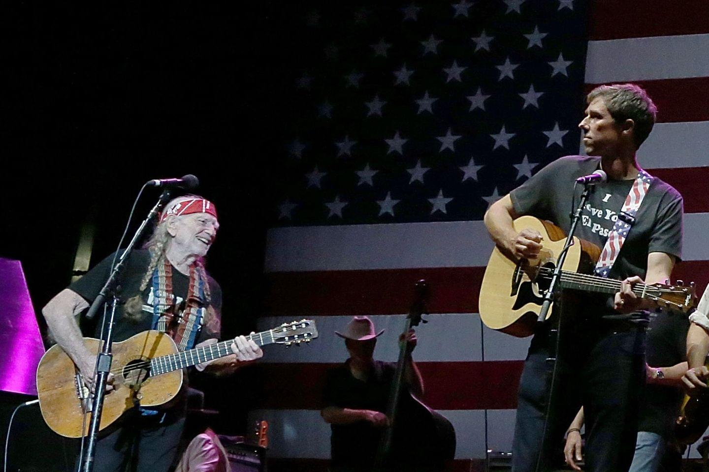 Willie Nelson Will Headline A Rally For Beto O'Rourke