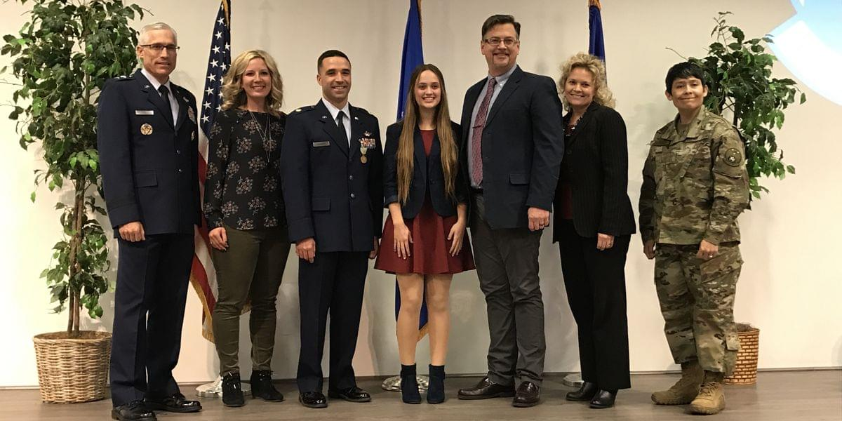 SAFB Airman Honored For Saving Father, Daughter From Burning Car