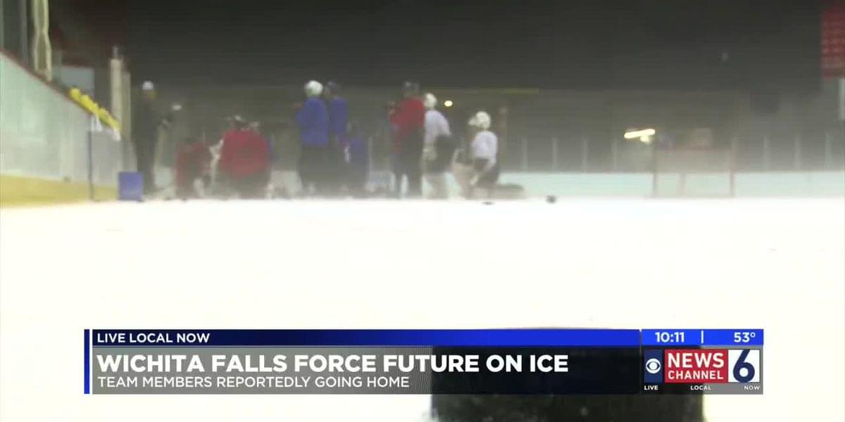 Wichita Falls Force Leaves The Ice
