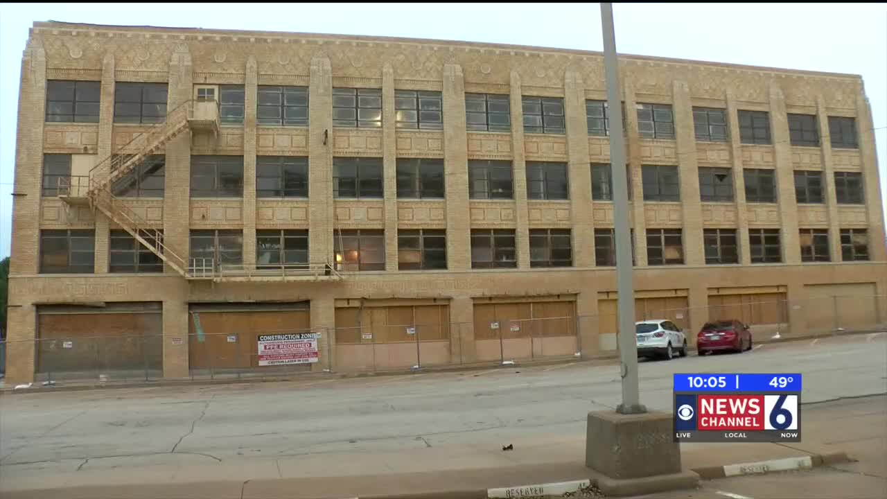 Historic Downtown Building Being Transformed Into Senior Living Apartments