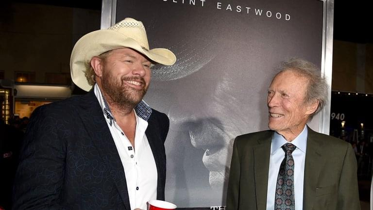 Toby Keith Explains How Clint Eastwood Inspired 'Don't Let The Old Man In' For 'The Mule'