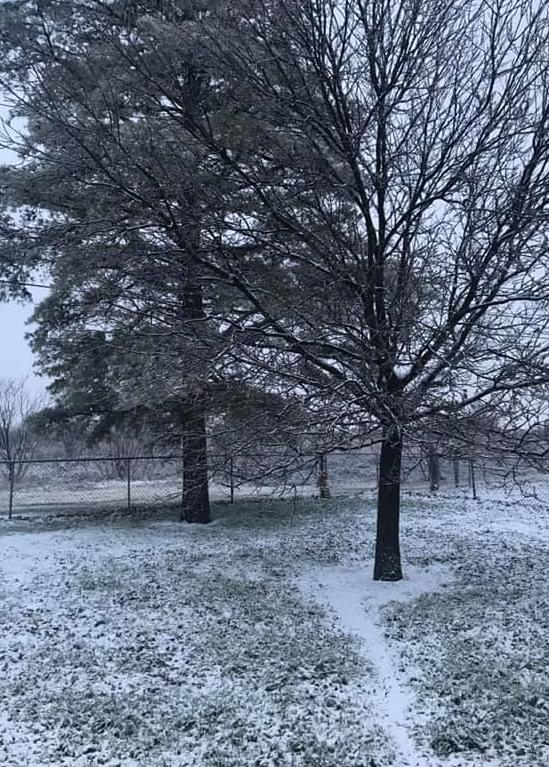 Wintry Weather Mix Hits Texoma