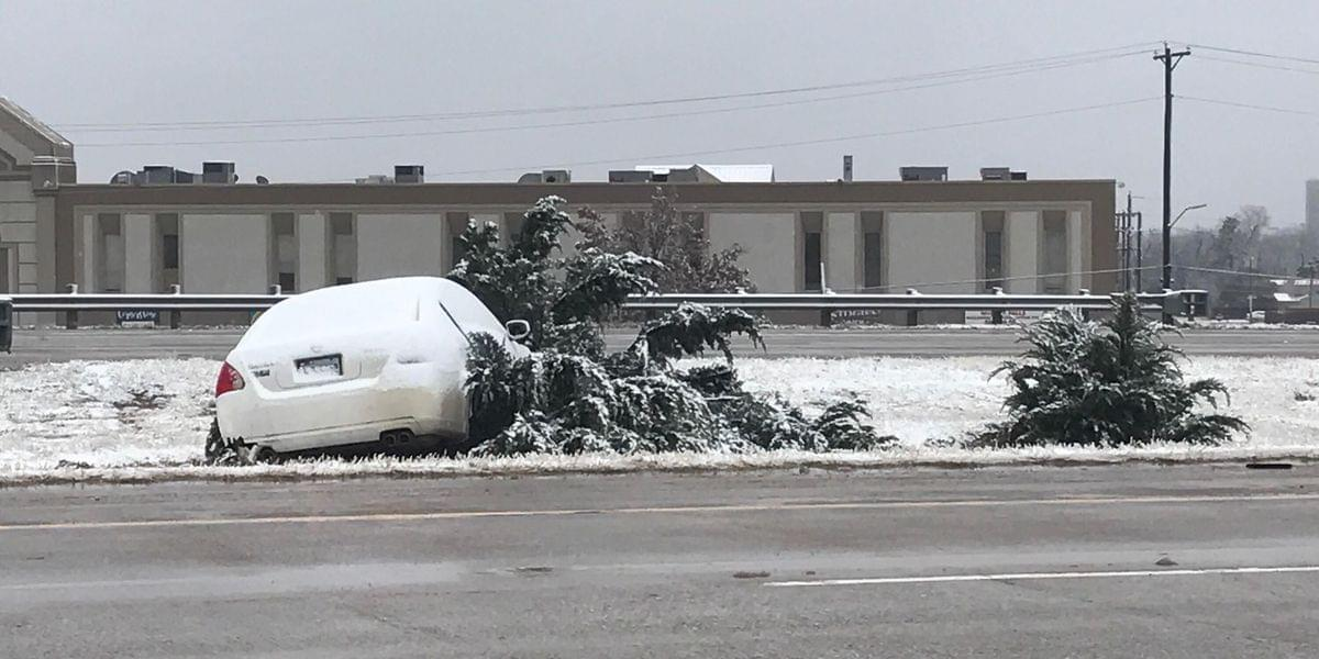 WFPD: Use Caution When Driving On Roads Covered In Snow, Ice