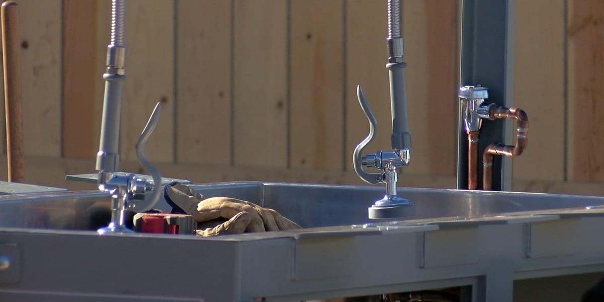 New Fish Cleaning Station Installed At Lake Wichita