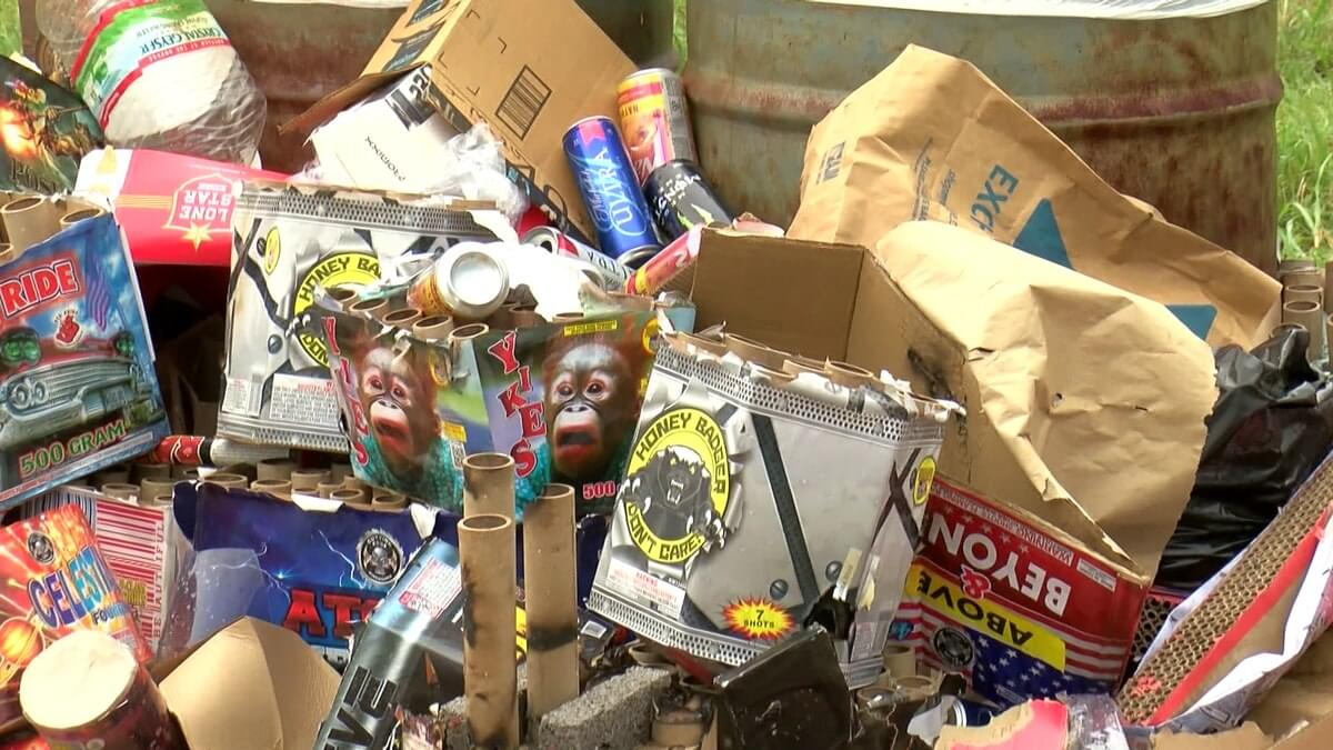 Fourth Of July Visitors Leave Trash At Hippie Beach