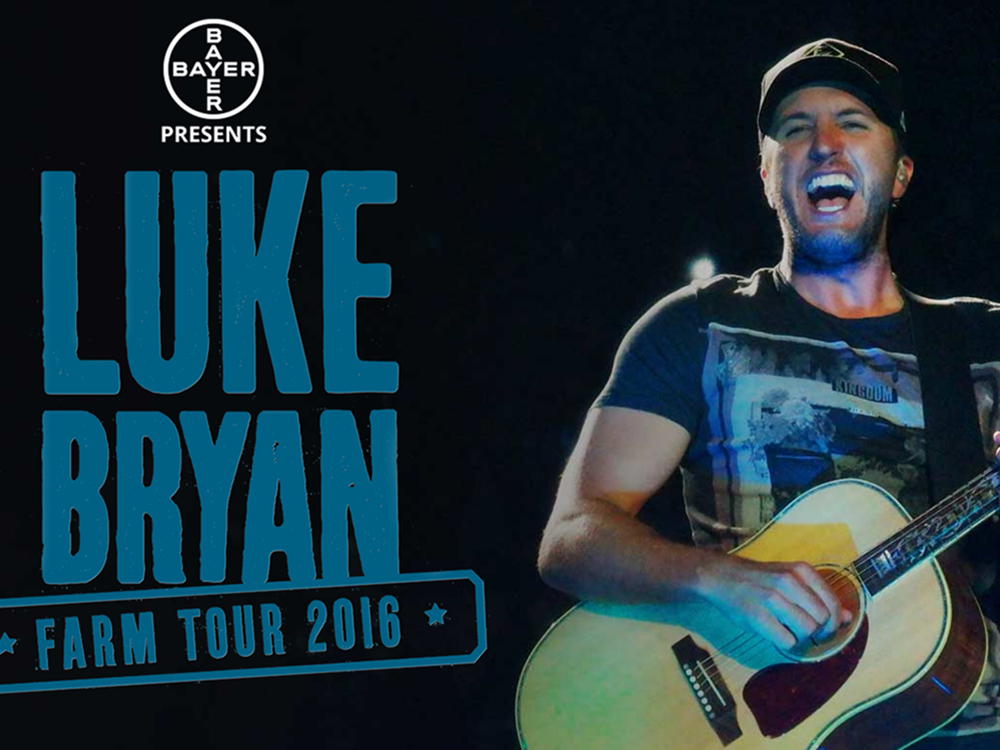 Luke Bryan Reveals Track List for First-Ever Farm Tour EP