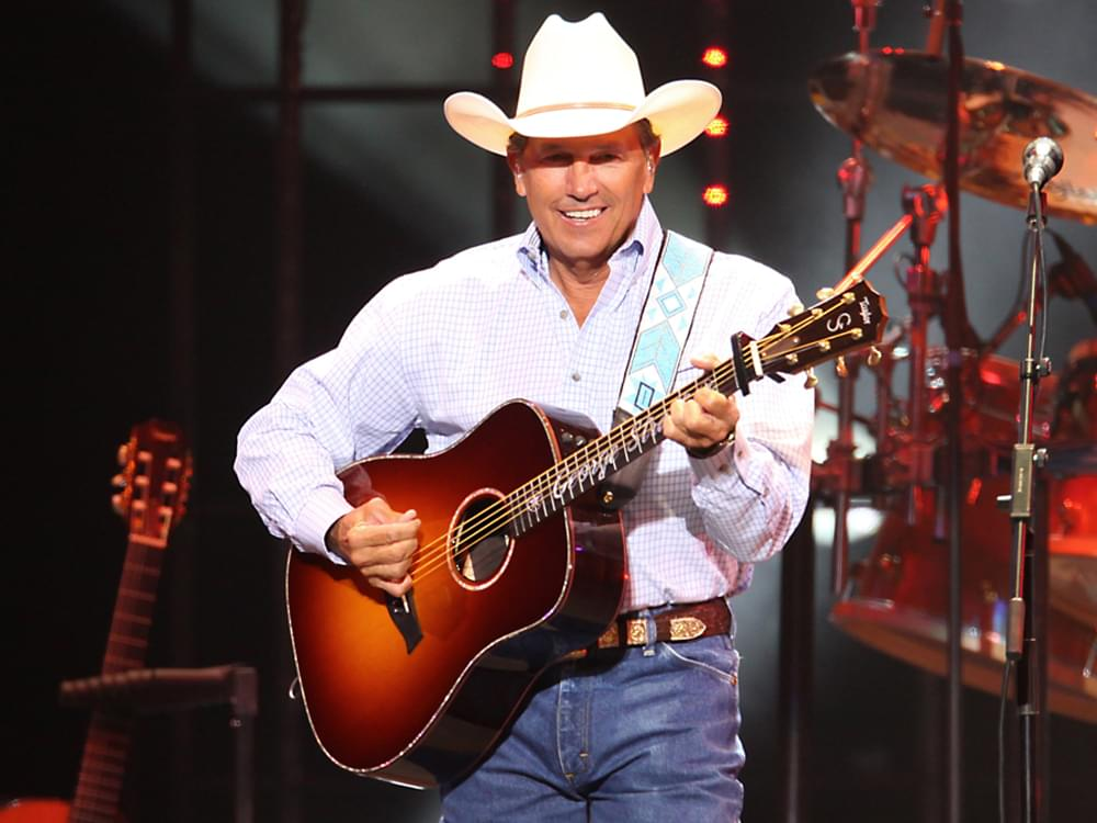 """George Strait Curates New """"Strait Country"""" Playlist"""
