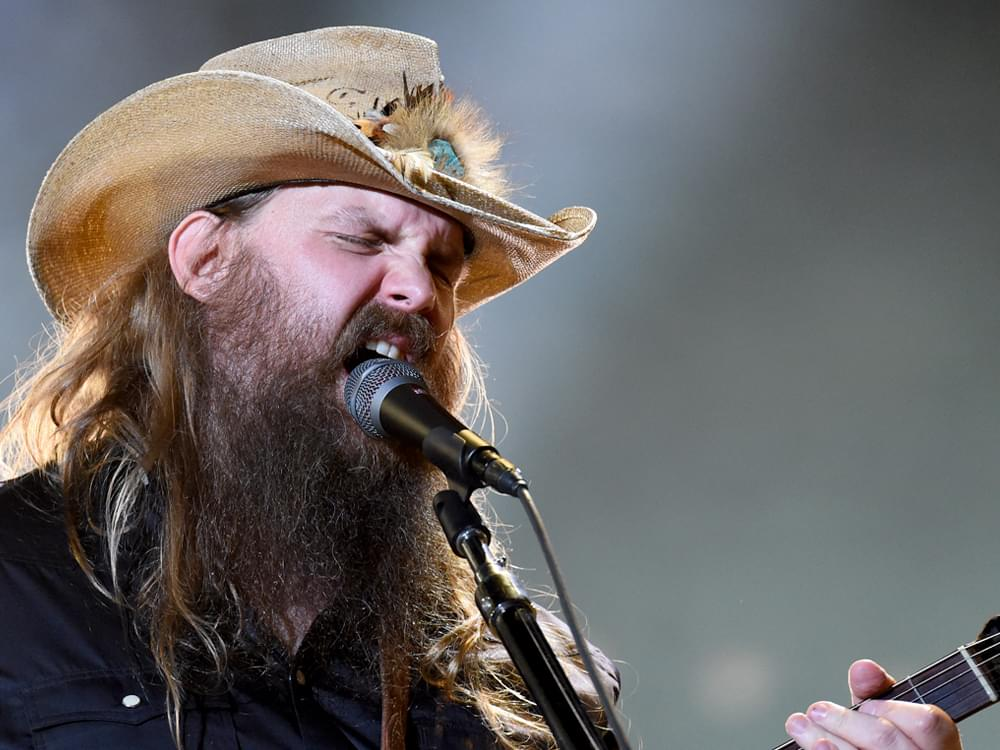 """Chris Stapleton Welcomes Other Artists to Record His Songs: """"I Think It's a Great Honor"""""""