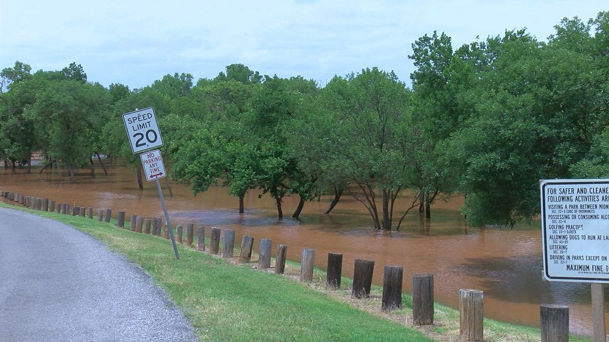 Lucy Park Flooding Draws A Crowd