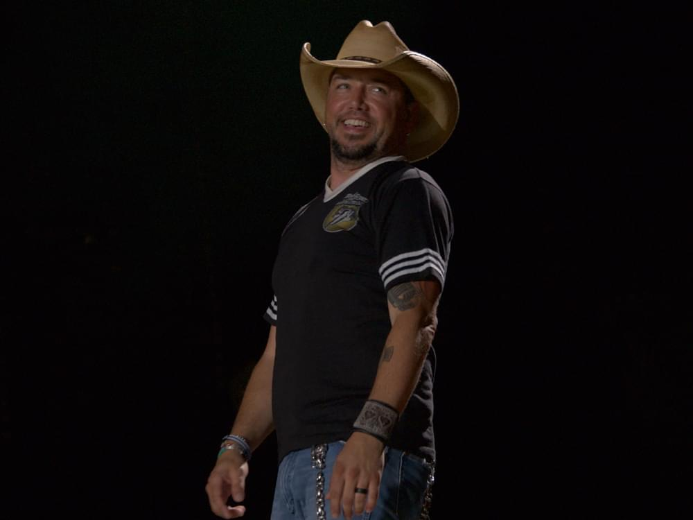 """Jason Aldean Scores 23rd No. 1 Single With """"Rearview Town"""""""