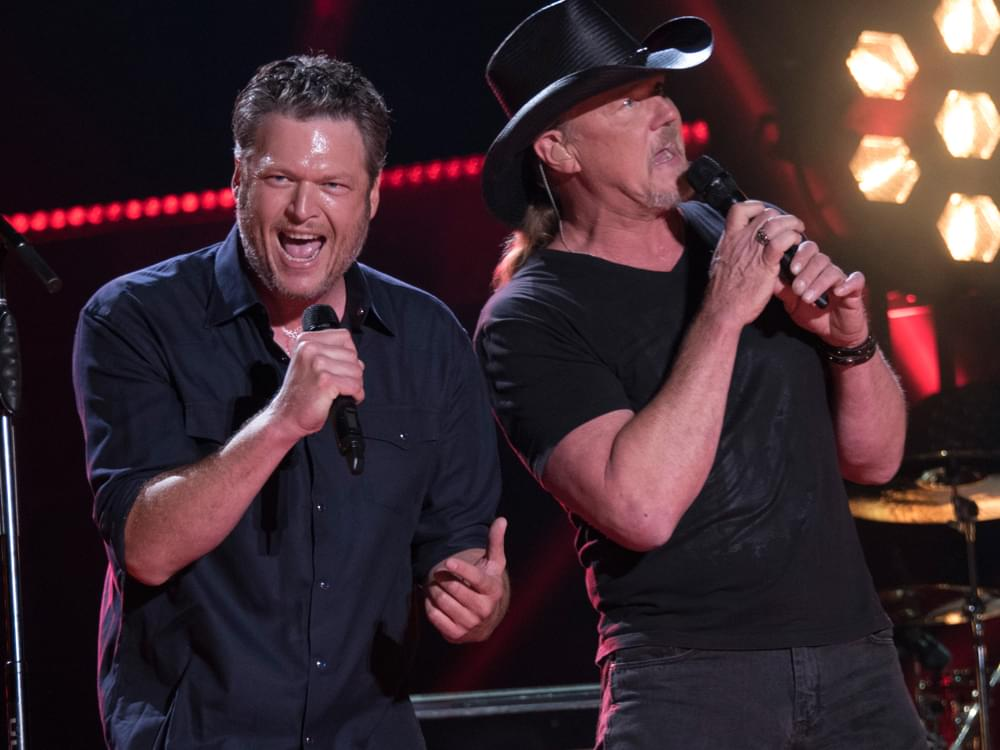 "Watch Blake Shelton & Trace Adkins Raise Some Hell in New Video for ""Hell Right"""