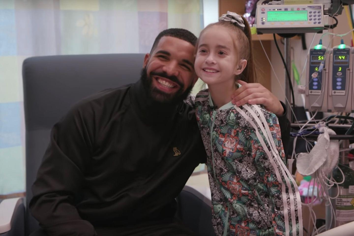 Hospitalized Girl That Drake Visited Receives Heart Transplant
