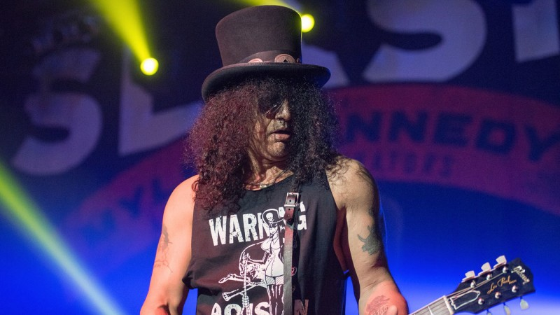 Slash Confirms That New Guns N' Roses Material Is In The Works