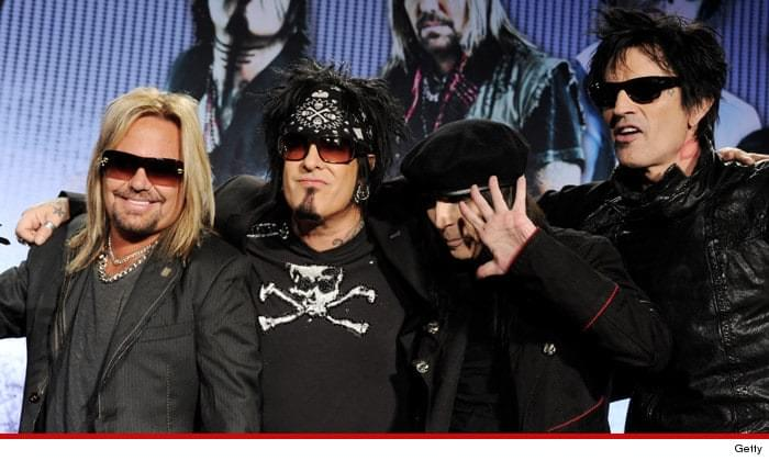 Motley Crue Reunite To Record Four New Songs