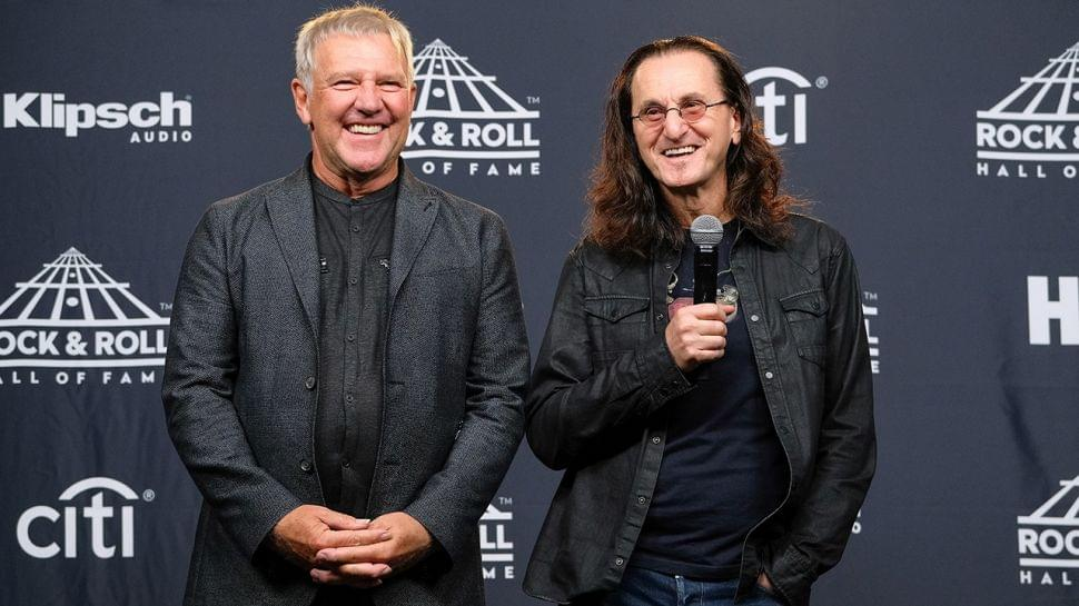 Alex Lifeson And Geddy Lee To Host Rush Fan Day At The Rock And Roll Hall Of Fame