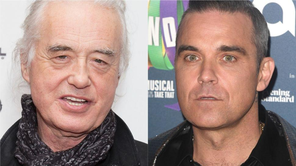Robbie Williams Accused Of Tormenting Jimmy Page By Blasting Out Black Sabbath